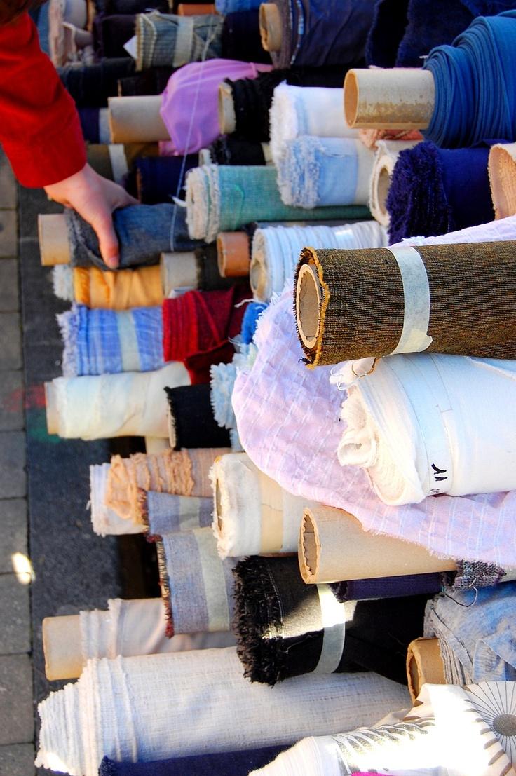 tissu marche | tissus marché Saint Michel !
