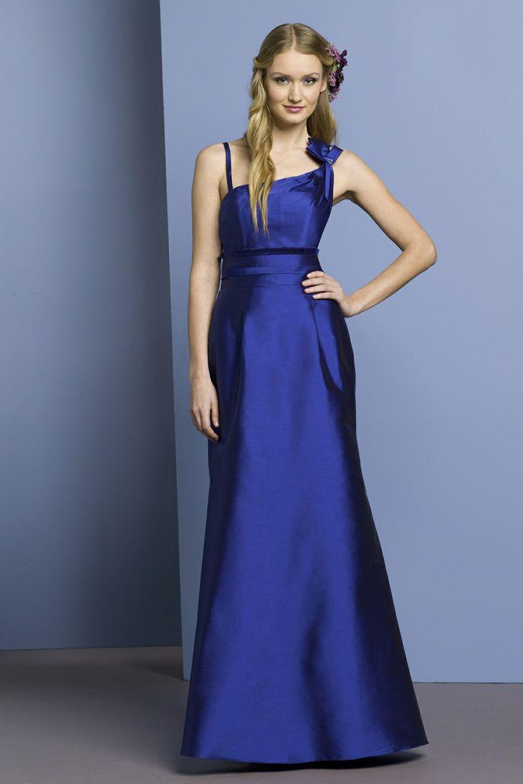 Beautiful sleeveless with natural waist dress for bridesmaid