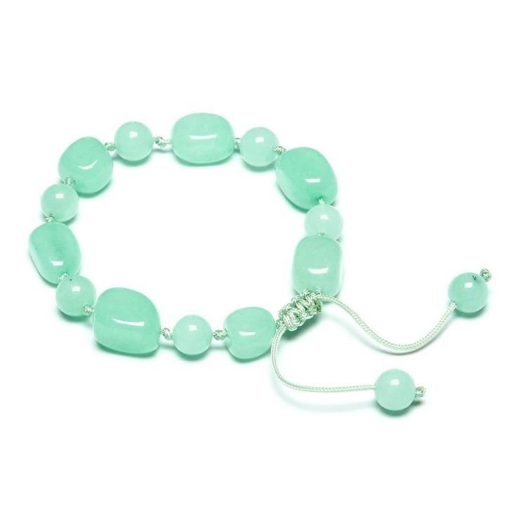 Lola Rose Fabrice Capri Green Quartzite Bracelet