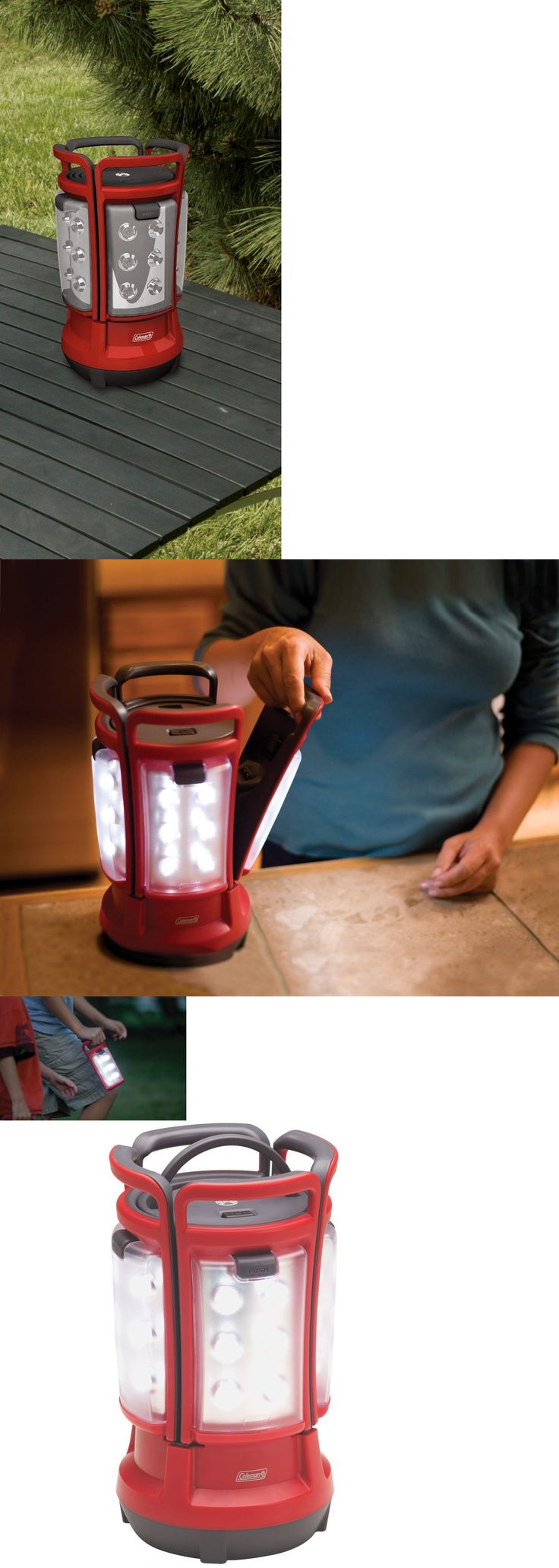 Lanterns 168867: Coleman Lanterns Battery Operated Lantern Red Camping Led Rechargeable Quad New -> BUY IT NOW ONLY: $89.17 on eBay!