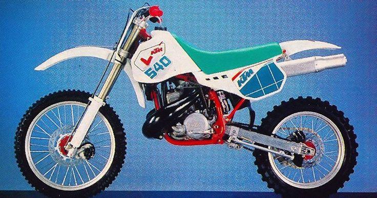 1992- KTM 540 DXC