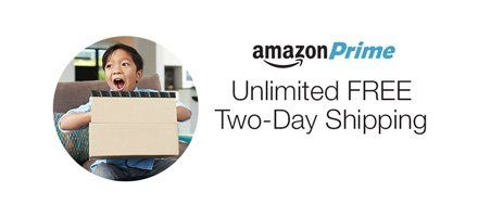 FREE Two-Day Shipping on over 20 million items with Amazon Prime