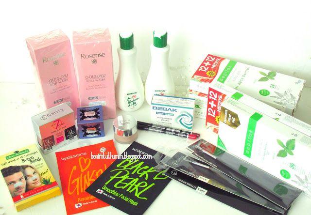 Benim Tutkum - Kozmetik ve Bakım Hakkında Herşey: Karışık Alışveriş (Watsons, Gratis, Flormar, Eve, ...