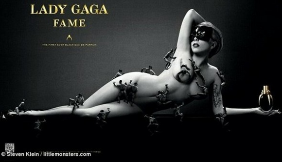 Lady Gaga's New Perfume  thefashionguise.com