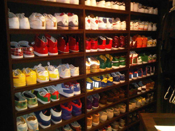 Guys Shoe Closet Ryan Lochtes I Think He Has As Many Shoes