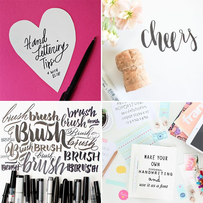 Hand Lettering Tips and Tricks   The Blog Market