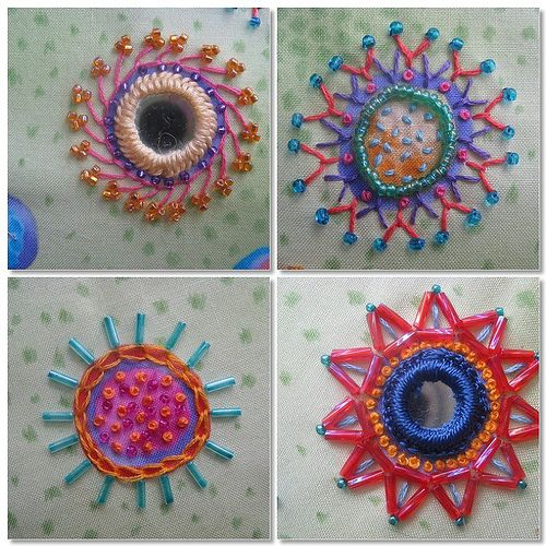 Best images about embroidery shisha mirrors on
