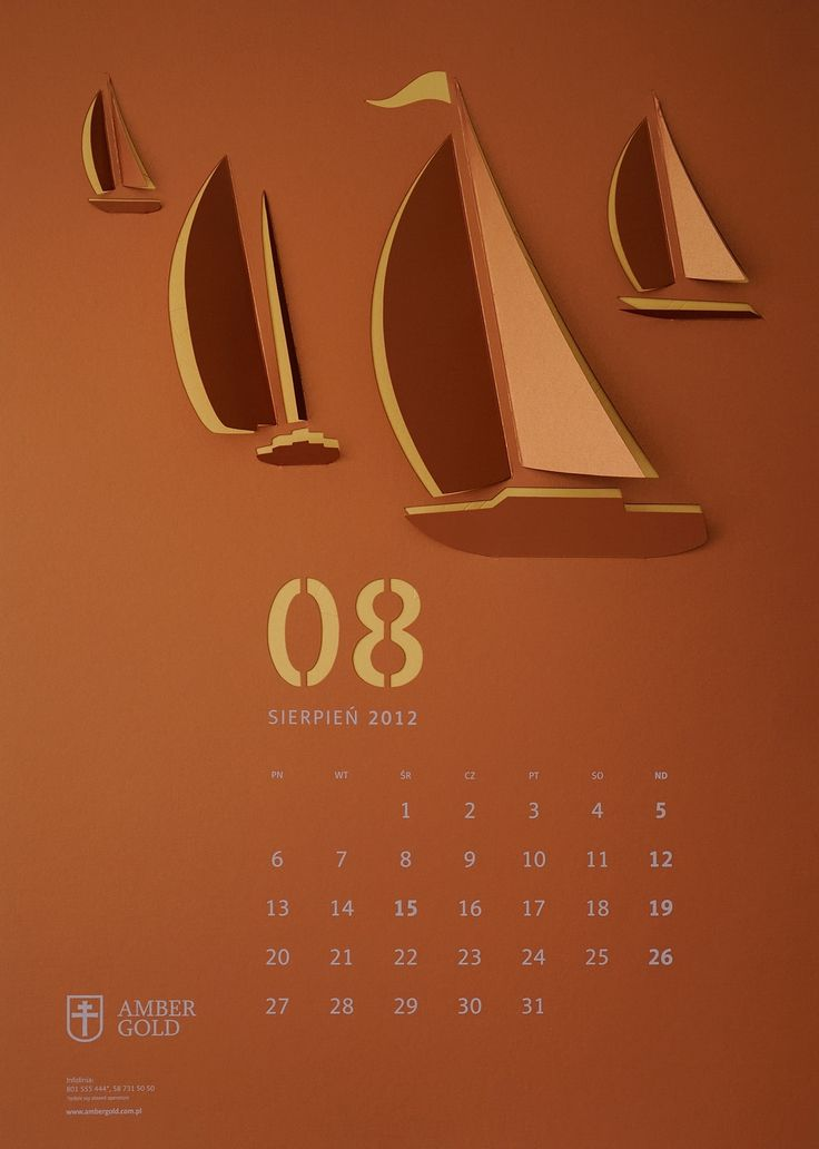 """Cut Out"" Wall Calendar"