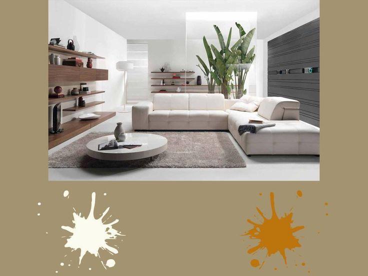 Visone chiaro, panna e arancio ruggine. Colori chiari e rigeneranti  per un luogo tranquillo della tua casa dove puoi rilassarti, leggere e riflettere  lontano dal caos della città. Che ne dici? #brown #palette #colourfull #livingroom #interiordesign