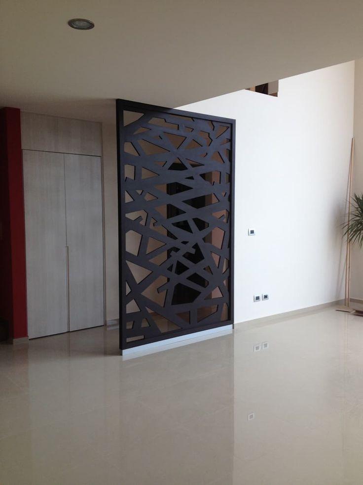 Divisor de habitaciones: Vestíbulos, pasillos y escaleras de estilo por Uku Celosias