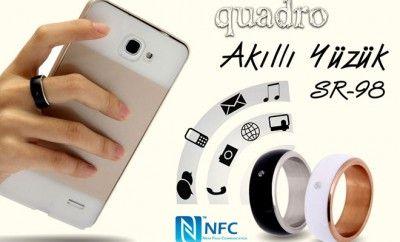 Teknoloji Çağının Aşıkları için Akıllı Yüzük... NFC teknolojisi kullanan, değerli madenlerden üretilmiş olan şık tasarımlı Akıllı Yüzük ürünleri teknolojik çiftlerin hayatını kolaylaştırıyor.