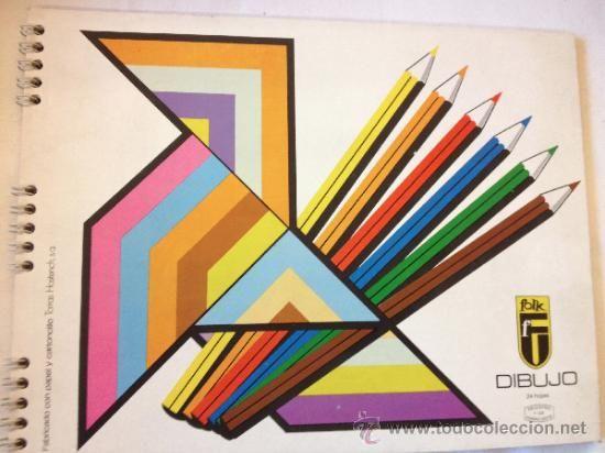 Album de papel Folk para dibujar de Torras Hostench