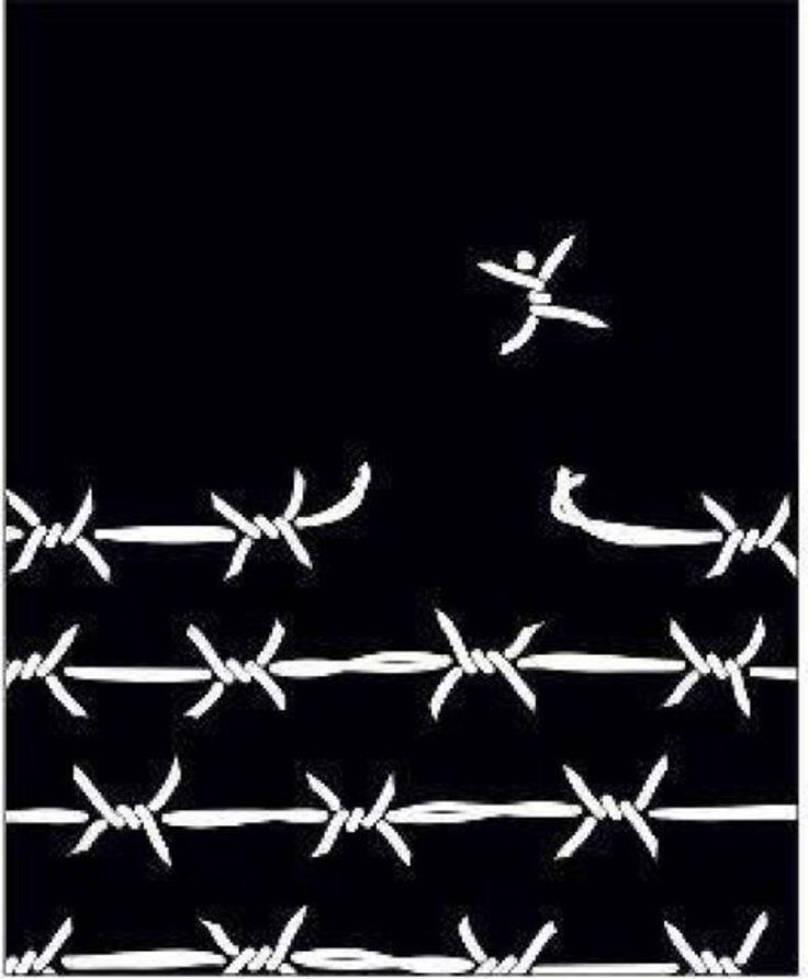 So often times it happens that we live our life in chains and we never even know we have the key