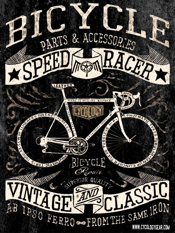 I drew an entire range of Vintage inspired cycling graphics for our next range of tee shirts. Pencil on paper. Available soon, www.cycologygear.com