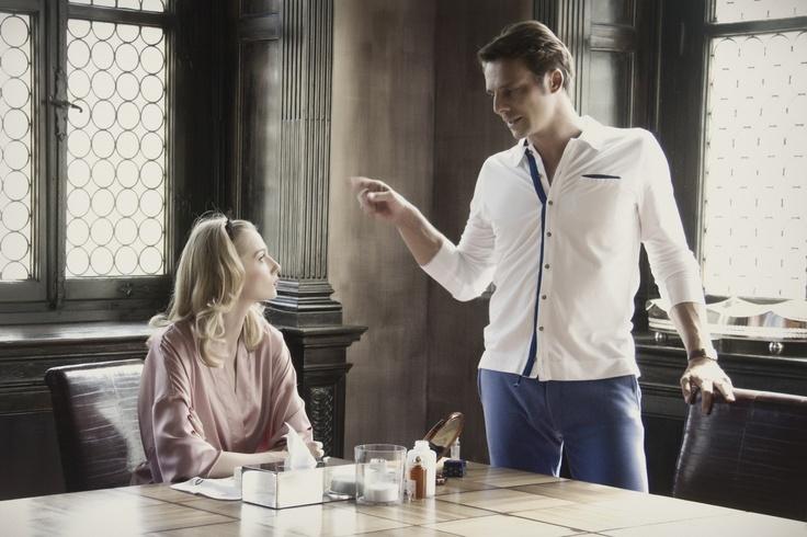 Eva Riccobono e Alessandro Preziosi in una scena del film.#passionesinistra#movieitaly#movie