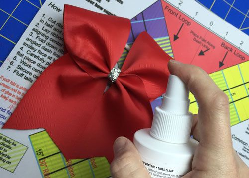 How To Make A Cheer Bow Step by Step