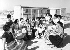 1960s. Women's Training Centre. UNRWA opens the Ramallah Women's Training Centre, the first institution in the Middle East to offer teacher training