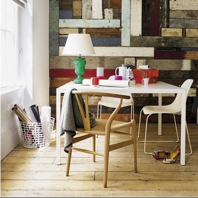 amazing old painted wood wall