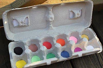 Love this idea. A color treasure hunt using an old egg carton.Scavenger Hunting, Teaching Colors, Cute Ideas, Easter Eggs, Eggs Cartons, Treasure Hunting, Create Studios, Colors Treasure, Colors Hunting