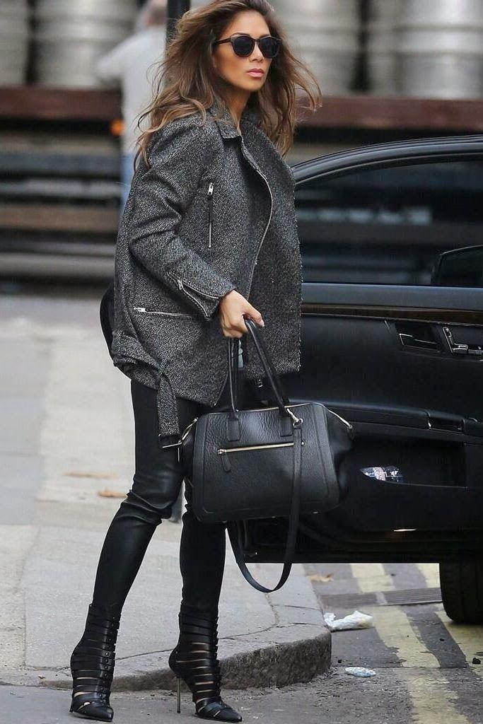 Nicole Schwerzinger black street style