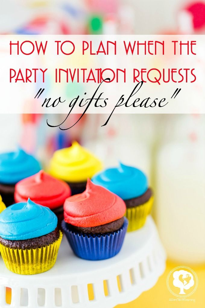 195 best kid parties images on pinterest birthdays activities for 10 ways to handle a birthday party invitation that asks for no gifts please stopboris Images