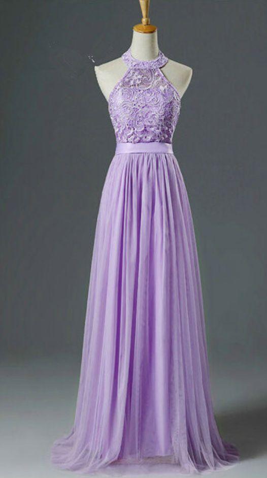 Halter Long Formal Occasion Dress