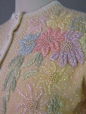 Pastel Beaded Sweater
