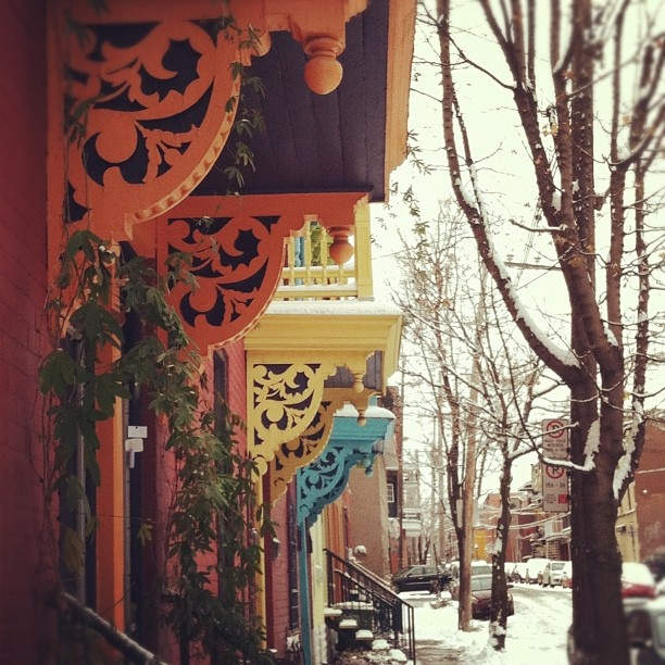Plateau Mont-Royal, #Montreal - by Annie Michaud