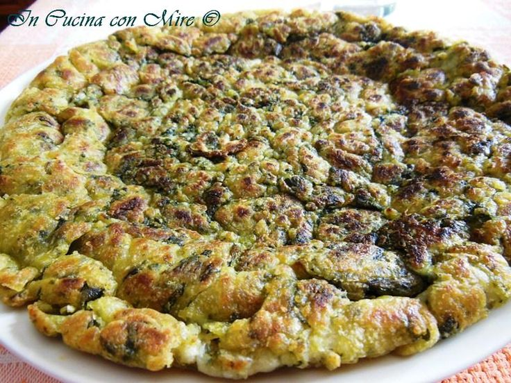 Frittata con cicoriette-Ricetta Antica Calabrese
