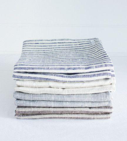 Fog Linen Bath Towels from fatherrabbit.com