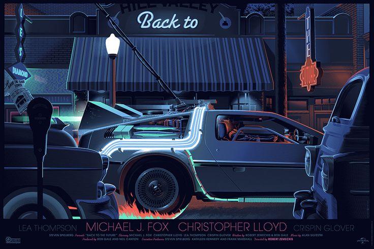 Laurent Durieux's Fantastic Retro-Futuristic Movie Posters