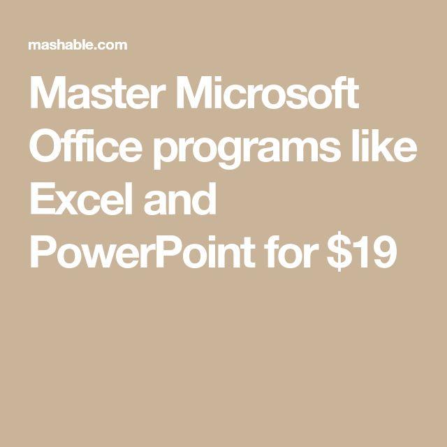 Best 25+ Office programs ideas on Pinterest Ms office software - degrees in microsoft word