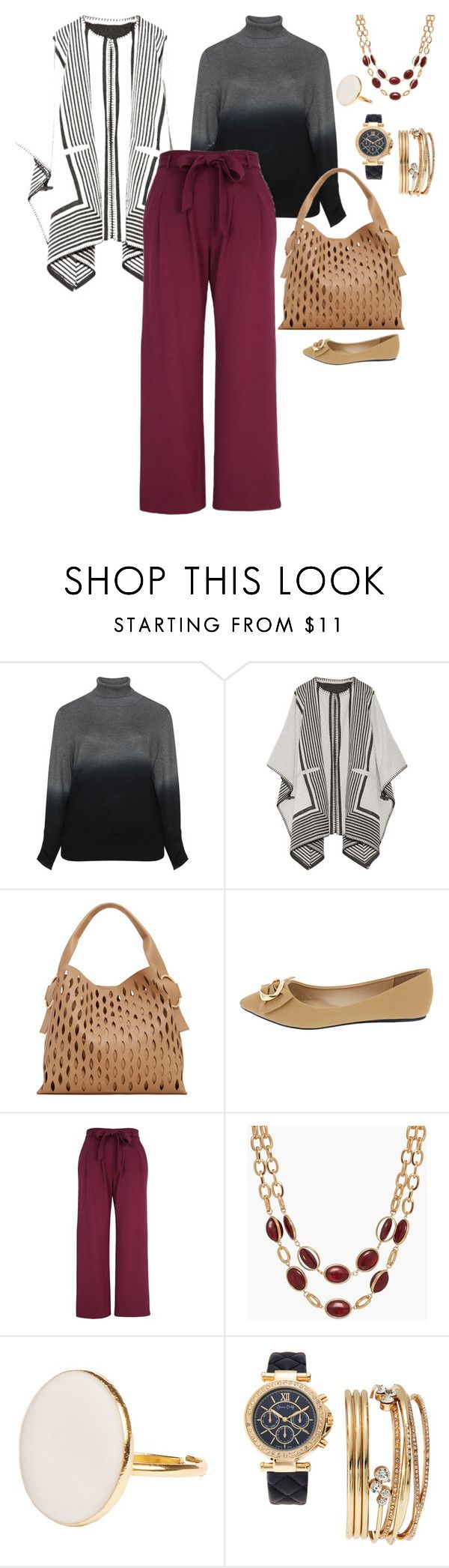"""Outfit #20"" by allieemet on Polyvore featuring M.i.h Jeans, MANGO, Melissa McCarthy Seven7, Talbots, Jessica Carlyle and plus size clothing"