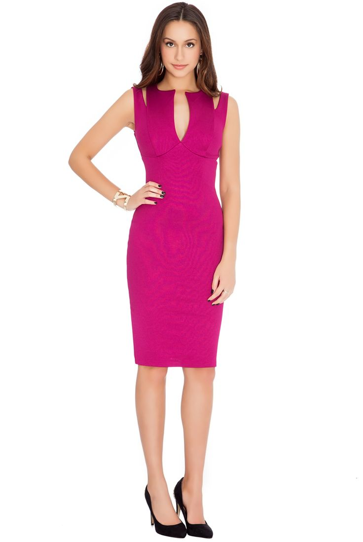 CUTAWAY BODYCON DRESS #wholesaleclothing #bodycon #partydress #eveningdress #goingoutdress #mididress #limitedstock