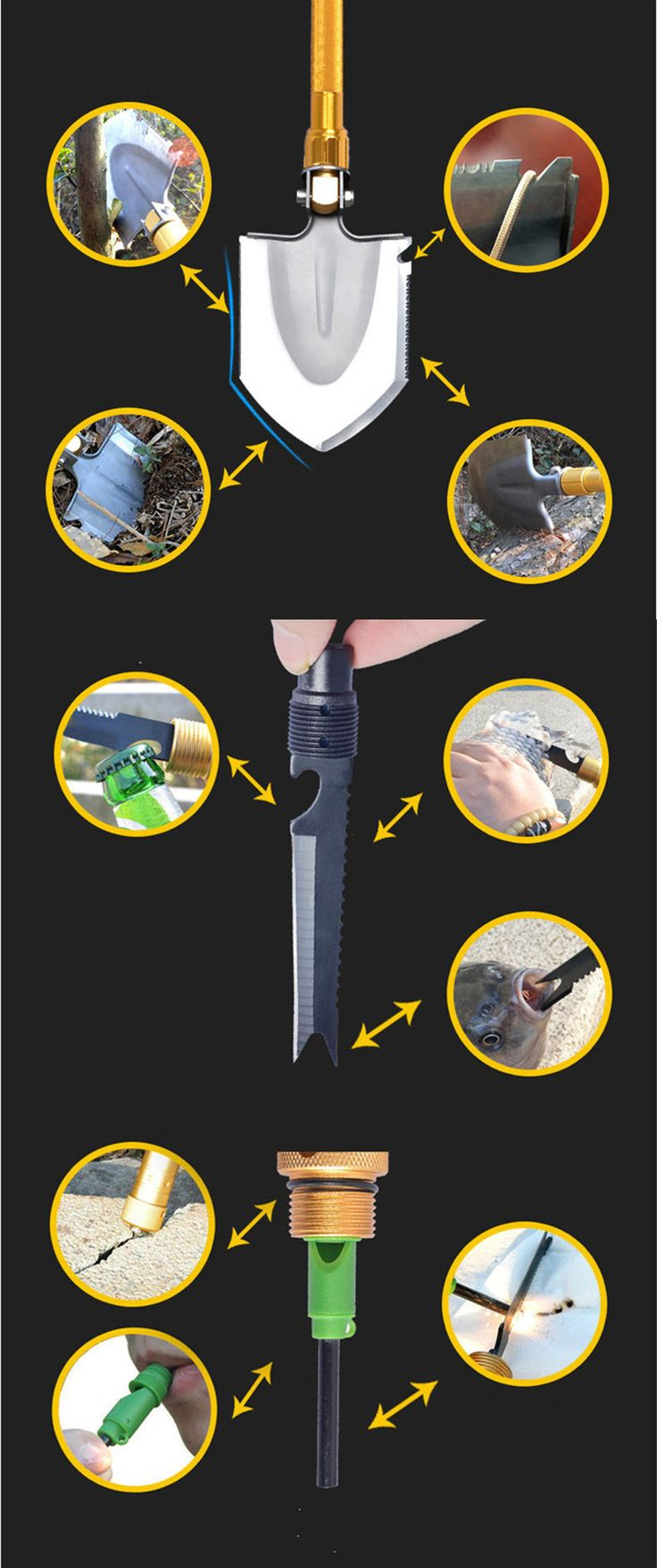 Portable multi-functional shovel military shovel professional survival tools camping outdoor emergency garden tool at http://stores.howgetrid.net/?products=portable-multi-functional-shovel-military-shovel-professional-survival-tools-camping-outdoor-emergency-garden-tool