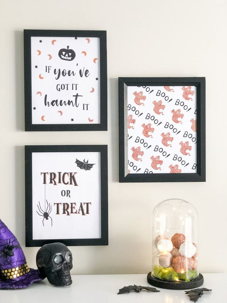 Make Your Own Classy Halloween Table Decoration Classy Halloween