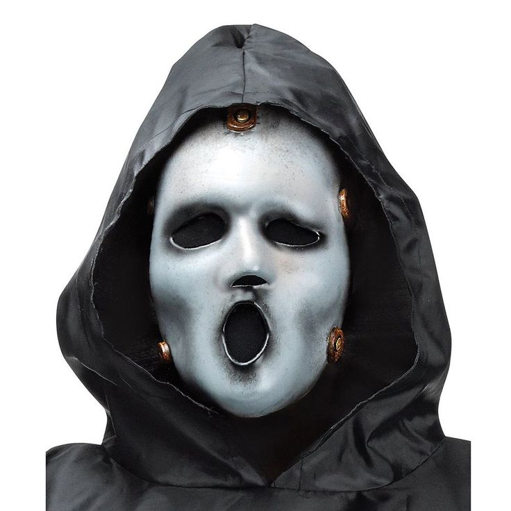 Adult MTV Scream Costume Mask, Adult Unisex, Multicolor