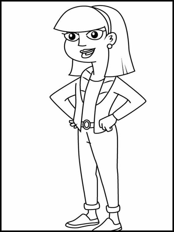 Milo Murphy S Law 2 Printable Coloring Pages For Kids Milo Murphys Law Coloring Pages For Kids Milo