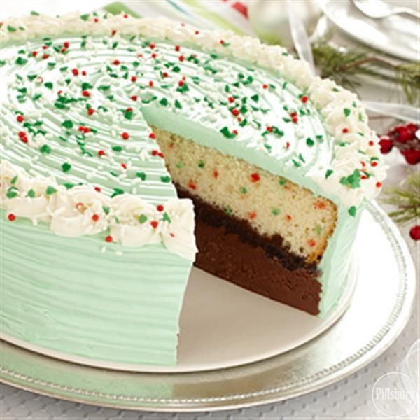 Funfetti® Holiday Ice Cream Cake from Pillsbury®