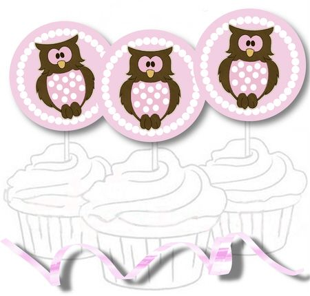 Free Printable Baby Shower Cupcake Toppers and Stickers