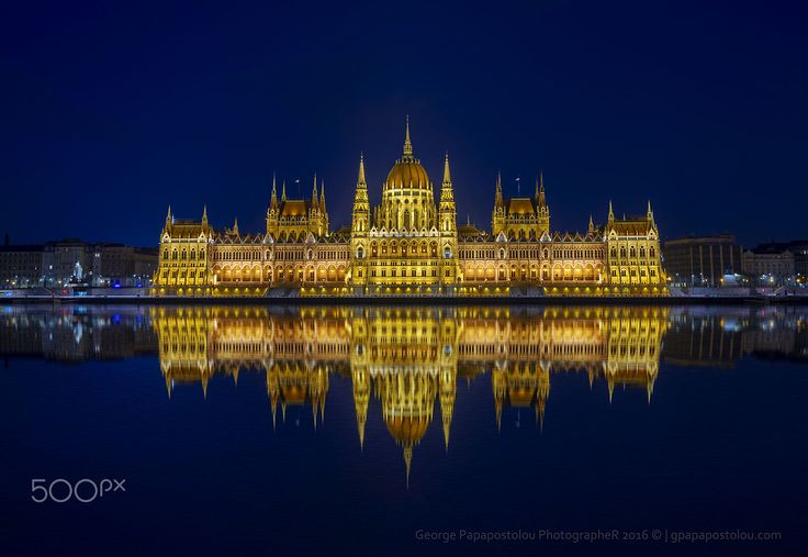 Hungarian Parliament 2 by George Papapostolou on 500px