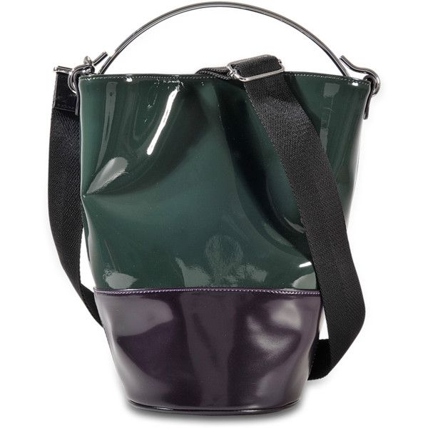 MM6 Maison Margiela Bucket Bag (£330) ❤ liked on Polyvore featuring bags, handbags, shoulder bags, multicoloured, mm6 maison margiela, bucket bags, colorful purses, multi coloured handbags and multi color purse