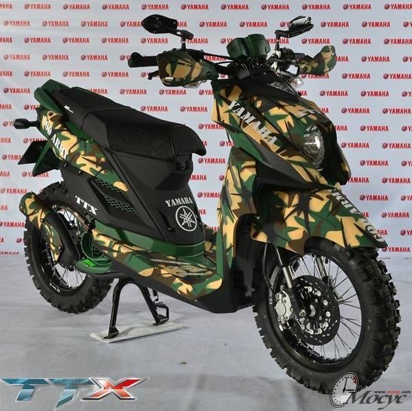 kumpulan modifikasi yamaha x ride