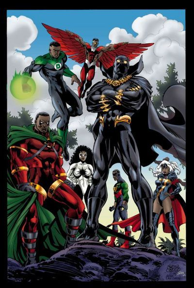 Black superhereoes