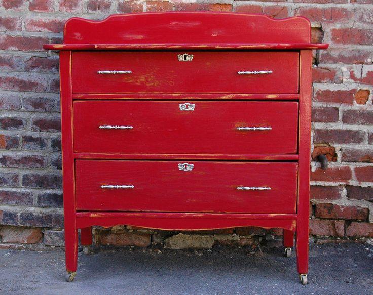 Muebles Rojo ToscanaToscana RedEl Taller de lo Antiguo  Pinterest