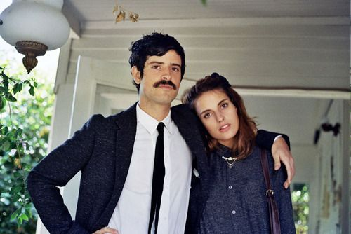 thegoldeneternity:    Devendra Banhart and Ana Kras photographed byDavid Gómez.
