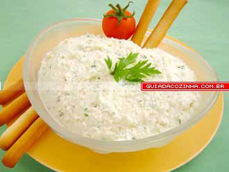 Receita de Patê de queijo