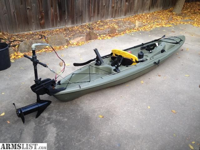 armslist for sale 12 39 kayak with trolling motor great