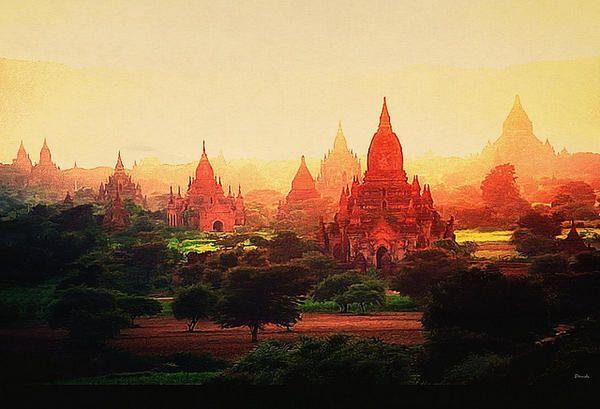 バガン遺跡(ミャンマー)