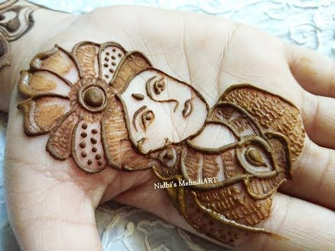 How to Draw Groom Face in Full Hand Bridal Mehndi Design- Tips for Beginners - YouTube